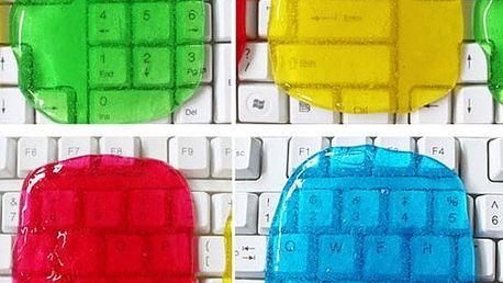 Čistící gel na klávesnice - různé barvy