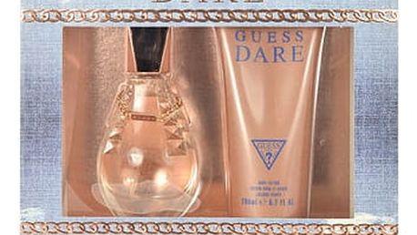 GUESS Dare EDT dárková sada Poškozená krabička W - EDT 50 ml + tělové mléko 200 ml