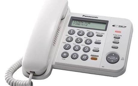 Panasonic KX-TS580FXW, bílá