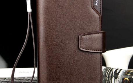 Unisex prostorná peněženka-Hnědá