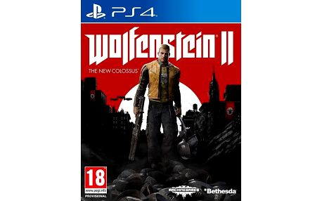 Wolfenstein II: The New Colossus (PS4) + Podtácky Wolfenstein II: The New Colossus