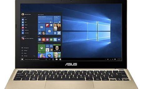 Notebook Asus R209HA-FD0116T (R209HA-FD0116T) zlatý Monitorovací software Pinya Guard - licence na 6 měsíců (zdarma) + Doprava zdarma