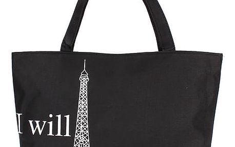 Taška přes rameno s motivy Paříže - 2
