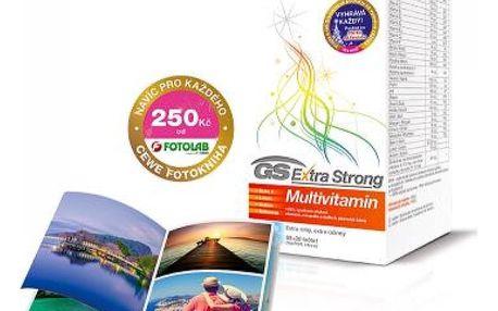 GS Extra Strong Multivitamin vánoční balení 60+30 tablet + DÁREK