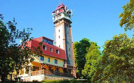 3 nebo 6denní pobyt pro 2 osoby s polopenzí v penzionu Vyhlídka na vrchu Tábor na Semilsku