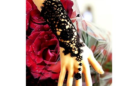 Krajková rukavička