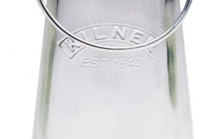 KILNER Skleněná lahev s klipem 500 ml, čirá barva, sklo