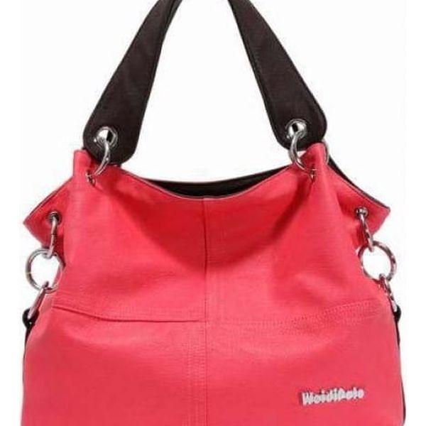Dámská kabelka pro každodenní nošení - červená