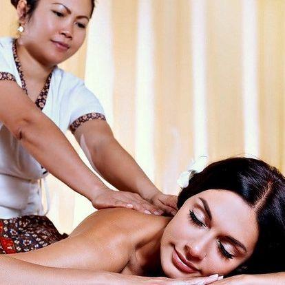 Exotická thajská 60minutová masáž dle výběru
