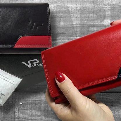 Dámské kožené peněženky ABBIE v dárkové kazetě