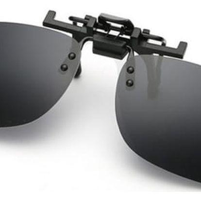 Polarizační klip na sluneční brýle - 5 barev