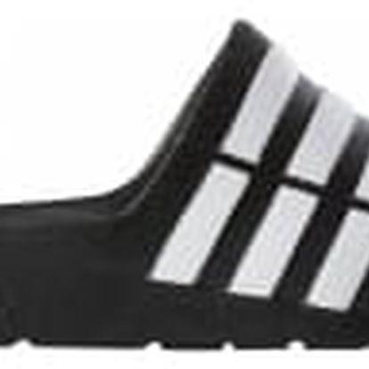 Adidas Duramo Slide K 39 BLACK1/RUNWHT/BLACK1