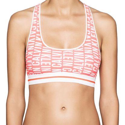 Calvin Klein neonová sportovní podprsenka Bralette