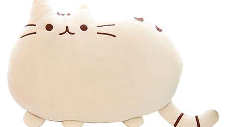 3D povlak v podobě kočičky - bílá