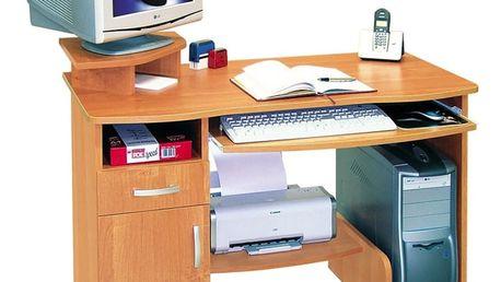 PC stůl Beta - olše