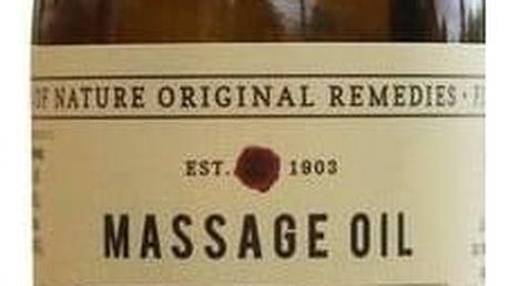 FIKKERTS Povzbuzující masážní olej Uplifting, hnědá barva, sklo