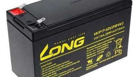 Olověný akumulátor Avacom Long 12V 7Ah F1 (PBLO-12V007-F1A)