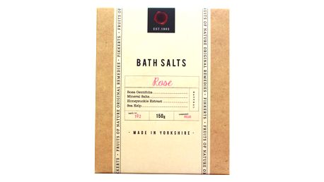 FIKKERTS Koupelová sůl Rose 150gr, béžová barva