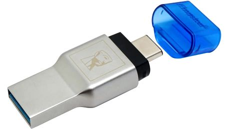 Kingston čtečka karet USB MobileLite DUO 3C - FCR-ML3C