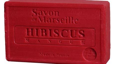 LE CHATELARD Francouzské mýdlo s vůní ibišku a manga 100gr, červená barva