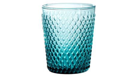 CÔTÉ TABLE Sklenička Gobelet, modrá barva, sklo