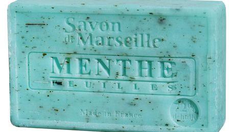LE CHATELARD Francouzské mýdlo s vůní máty Menthe 100gr, zelená barva