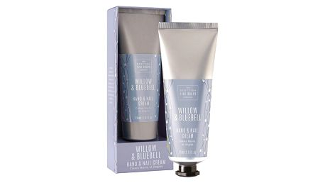 SCOTTISH FINE SOAPS Krém na ruce a nehty Willow & Bluebell 75 ml, modrá barva, plast, papír