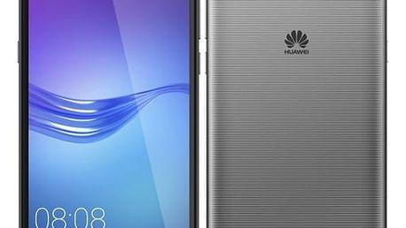 Mobilní telefon Huawei Y6 2017 Dual SIM (SP-Y617DSTOM) šedý