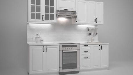 Kuchyňská linka MICHELLE 240 cm - bílá