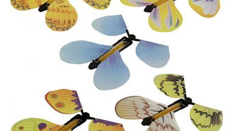 Plastový motýl - kouzelná hračka - dodání do 2 dnů