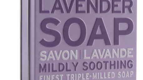 SCOTTISH FINE SOAPS Dárkové mýdlo v plechovce - levandule, fialová barva, kov