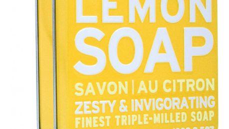 SCOTTISH FINE SOAPS Dárkové mýdlo v plechovce - citron, žlutá barva