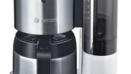 Kávovar Bosch Styline TKA8651 bílý + Doprava zdarma