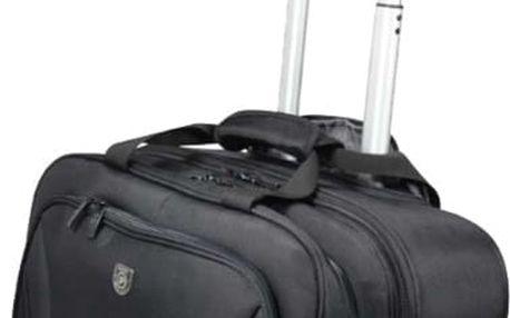 Port Designs COURCHEVEL kufr na 15,6'' notebook a 10,1'' tablet, černý - 160518 + Zdarma PORT CONNECT - přenosný outdoorový Bluetooth reproduktor (v ceně 349,-)