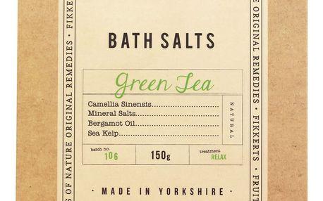 FIKKERTS Koupelová sůl Green Tea 150gr, béžová barva