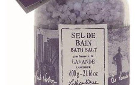 Lothantique Lothantique sůl do koupele - levandule, fialová barva