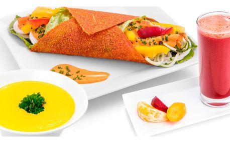 Zdraví na talíři: 4chodové menu z raw bistra