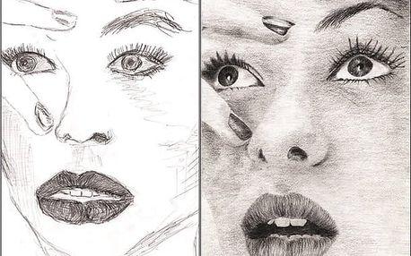 MALÍŘEM ZA VÍKEND - Tužka mozkovou hemisférou I. – základy kresby a portrét dle předlohy