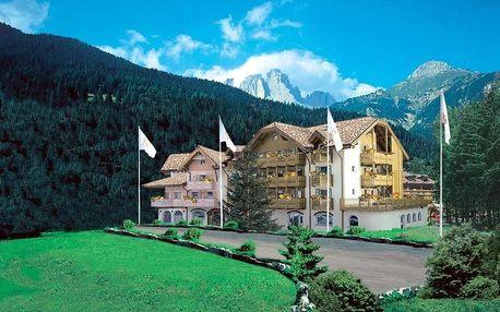Itálie - Val di Fassa e Carezza na 8 až 11 dní, polopenze s dopravou vlastní