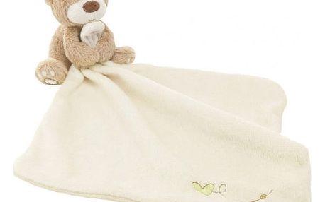 Deka pro miminka s plyšovým medvídkem