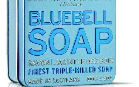 SCOTTISH FINE SOAPS Dárkové mýdlo v plechovce - hyacint, modrá barva