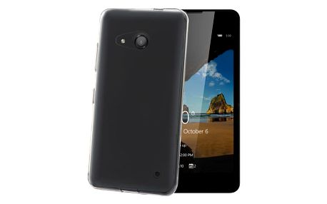 CELLY Gelskin TPU pouzdro pro Microsoft Lumia 550, bezbarvá - GELSKIN529