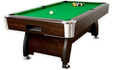 MAX 1349 Kulečníkový stůl pool billiard kulečník 8 ft - s vybavením 145 kg