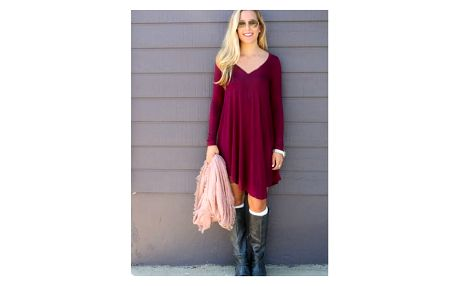 Asymetrické šaty - více variant