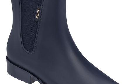 Zaxy modré holínky London Boot II Fem Navy Blue