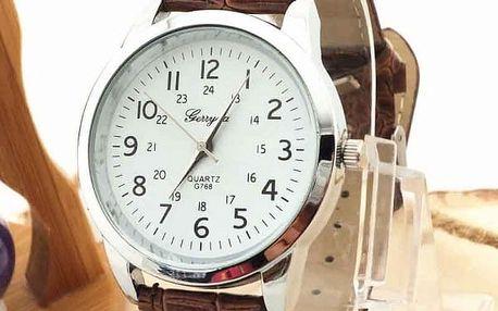 Unisexové hodinky s velkými číslicemi - 8 barev