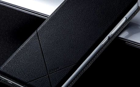 Luxusní pouzdro z PU kůže pro Xiaomi Redmi Note 3 - černá