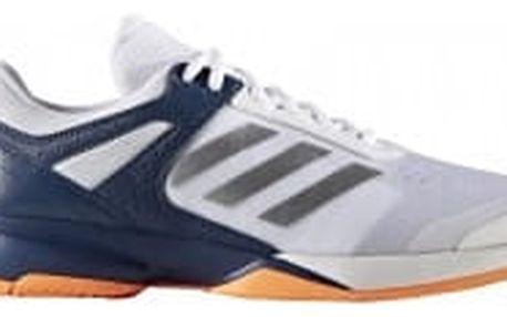 Pánské tenisové boty adidas adizero court   BA9085   Bílá   43
