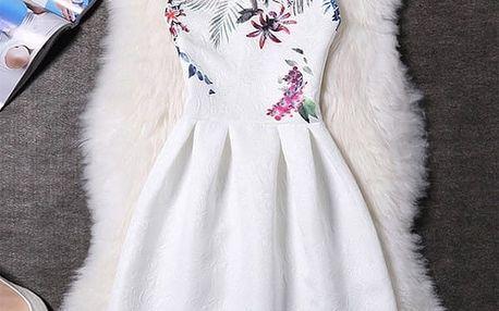 Elegantní šaty s originálními motivy - varianta 14, velikost 2