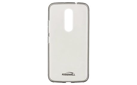 Kisswill TPU pouzdro pro Lenovo Moto M, černá - 2434125